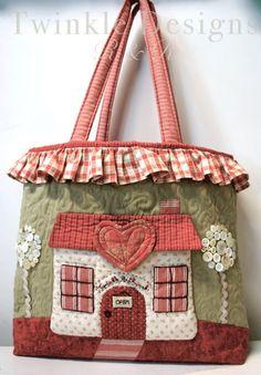 Adorable applique bag