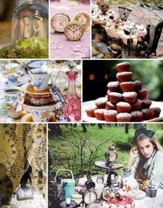 """A guide to hosting your own """"mad"""" tea party!  Create a whimsical setting, nonsensical games, curious foods, and more!"""
