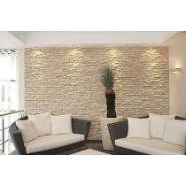 Attrayant Stone Veneer Interior Walls, Diy Interior Stone Wall, Interior Design,  Stone Wall Living