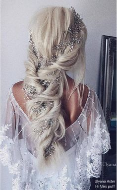 Prom Hairstyles Down; Prom Hairstyles For Long Hair; Prom Hairstyles For Short Hair; Wedding Hairstyles For Long Hair, Wedding Hair And Makeup, Braided Hairstyles, Hair Makeup, Trendy Hairstyles, Hairstyle Wedding, Hairstyle Ideas, Hair Ideas, Belle Hairstyle