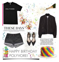 """HAPPY BIRTHDAY, POLYVORE <3"" by tatjana ❤ liked on Polyvore featuring art, contestentry and happybirthdaypolyvore"