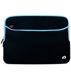 """Black with Blue Edge Neoprene Sleeve for Barnes and Nobles Nook (Black with Green*) by SumacLife. $9.99. """"This Package includes: . Neoprene Sleeve for Barnes and Nobles Nook """""""