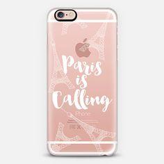 Paris is Calling - White - Classic Snap