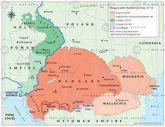 Hungary under Matthew Corvinus map thumbnail Matthias Corvinus, Austria, Vlad The Impaler, Alternate History, Historical Maps, Reign, Poland, Knowledge, Ukraine