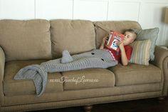 Killer Whale Shark Blanket Combo Pattern Pack