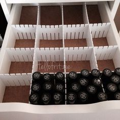 How-To: Dividers for your Ikea Alex Drawers!!! ...Makeup or Nail ...