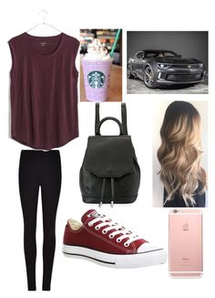"""""""Going to school or to hang out"""" by autumspring7 on Polyvore featuring Winser London, Madewell, Converse and rag & bone"""