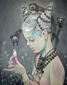 Las ilustraciones narrativas de Chiara Bautista (alias leche) | El Resto Baile