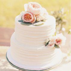 Simple Wedding Cake as  wedding cake ideas to make your Wedding Cake design look…