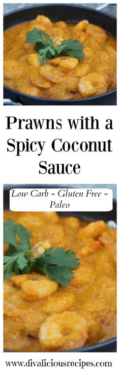 A prawn recipe that is in a spicy coconut sauce. A very easy healthy recipe to make and you could always used frozen instead of fresh prawns too. Recipe - http://divaliciousrecipes.com/2012/05/03/prawns-in-a-spicy-coconut-sauce/