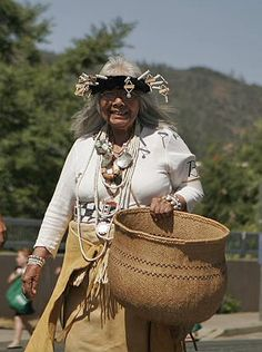 Julia Parker, whose basketry work is featured in 'Sharing Traditions' Exhibit in Yosemite National Park, June North American Tribes, American Indians, Yosemite National Park, National Parks, Basket Crafts, Native American Design, National Museum, Basket Weaving, Traditional