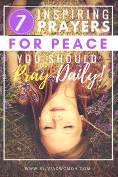 7 Inspiring Prayers for Peace you Should Pray Daily!