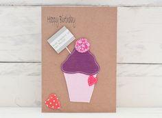 Birthday Card Blackcurrant - Personalised £2.00