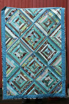 String Quilt...I JUST LOVE THIS COLOR. VERY PRETTY..