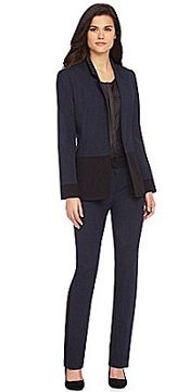 Suit of the Week: Gianni Bini by Corporette: fashion, lifestyle, and career advice for overachieving chicks Interview Suits, Housekeeping Uniform, Gianni Bini, Working Woman, Business Attire, Simple Outfits, Devon, Suits For Women, Dress To Impress