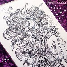 unicorn tattoo   Tumblr
