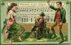 Vintage Postcard 12 - Wearing of the Green | by CharmaineZoe's Marvelous Melange