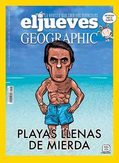 Portada Revista El Jueves nº. 2195 Humor Grafico, Shit Happens, Twitter, Digital, Funny, Movie Posters, Facebook, Products, Comics