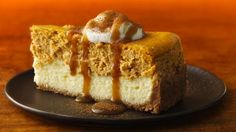 Pumpkin-Chai Cheesecake - use Golden Syrup or Brown Rice Syrup (instead of corn syrup) & GF graham crackers or cookies