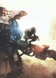 Titanfall looks cool at first I didn't think so but now its looking pretty good