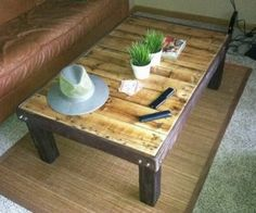 Pallet Coffee Table Plans