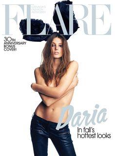 Flare Magazine - Flare Magazine September 2009 3 Covers by Max Abadian
