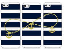 Hipster Best Friends Forever with Anchor For iPhone 5 5S 5C Hard Cover - 3X Case