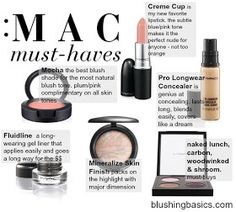 blushing basics: MAC Makeup Must-Haves