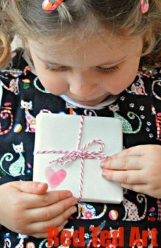 Simple Wrapping Paper Ideas - Red Ted Art's Blog