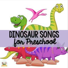 Best Dinosaur Songs for Preschool Kids - Pre-K Pages Dinosaur Songs For Preschool, Dinosaur Crafts, Preschool Lessons, Preschool Activities, Dinosaur Party, Songs For Toddlers, Kids Songs, Kids Reading, Reading Lists