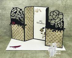 Colour INKspiration #35, Botanical U-Fold Card