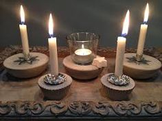 Bildergebnis für windlichter beton Candles, Ideas, Photo Illustration, Candy, Candle Sticks, Candle