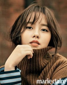 POPdramatic: Kim So Hyun Looks Chic and Poised in a Pictorial with Marie Claire Asian Actors, Korean Actresses, Korean Actors, Actors & Actresses, Marie Claire, Korean Beauty, Asian Beauty, Korean Girl, Asian Girl