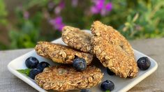 3 healthy recipes: Breakfast cookies, nori veggie rollups and flourless pizza Gma Recipes, Brunch Recipes, Low Carb Recipes, Whole Food Recipes, Breakfast Recipes, Vegetarian Recipes, Healthy Recipes, Breakfast Ideas
