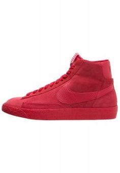 BLAZER MID PREMIUM VINTAGE - Sneaker high - red