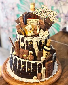 Cake for the boss Cakes For Men, Cakes And More, Chocolate Cake Designs, 30 Cake, Cake Business, Dream Cake, Fashion Cakes, Love Cake, How To Make Cake