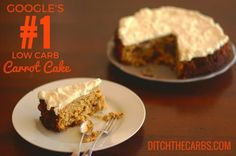 This is Google's no.1 Low Carb Carrot Cake - for a damn good reason. It works. No sugars, grains, or gluten. Simple & versatile - cupcakes, muffins, slice.