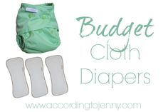 Budget Cloth Diapers [+ Buttons Cloth Diapers Review & Giveaway] - According To Jenny