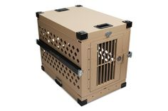 Impact Case Collapsible Dog Crate X-Large (Desert Tan) >>> Details can be found  : Dog crates