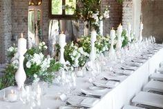 White garden seaside wedding reception,with use of wild rose & eustoma, Stara Cegielnia - Rzucewo, Poland, by artsize.pl