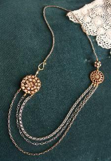 Vintage button jewelry love it! must try! #ecrafty