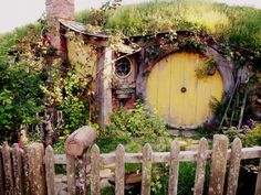I am so going to live in a hobbit hole someday.