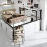 10 Elegant Loft and Bunk Beds Design for Kids and Teenager Cool Bunk and Loft for Kids Bedroom with White Brown Design – Home Interior Design Ideas