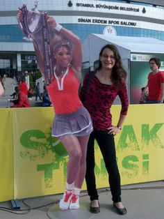 "Via Serena Williams November 1 Hey love ur top! RT""@mjjwoman: With @Serena Williams in Istanbul (sort of, lol) wearing @SerenaStatement top. .http://t.co/iJgwmD30Lq""  Serena --- #SoCute Luv the Top!"