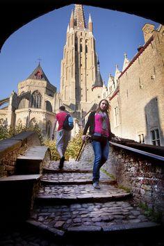 The Church of Our Lady in #Bruges (#Belgium).  http://www.hotelnavarra.com/en/info/151/Visit-Bruges.html