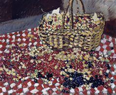 """""""Le panier de groseilles"""" Tableau de l'artiste peintre Louis Valtat (1869-1952)"""