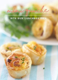 Mini Quches are delightful snacks to have for parties, morning tea or food to put in kids lunchboxes. Cheese and Bacon Mini Quiches are delicious.