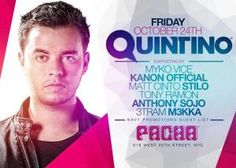 Quintino at Pacha! NYC | Guest set by Sojo!