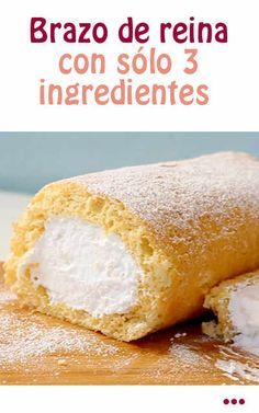 #receta #tarta #brazo #reina #gitano #economico