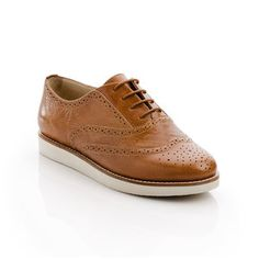 Frankie Shoe Cognac, $45, now featured on Fab.
